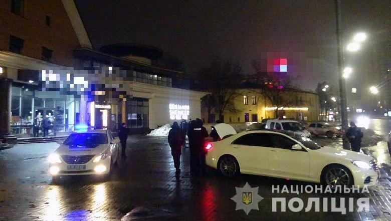 На столичному Печерську сталася стрілянина / фото kyiv.npu.gov.ua