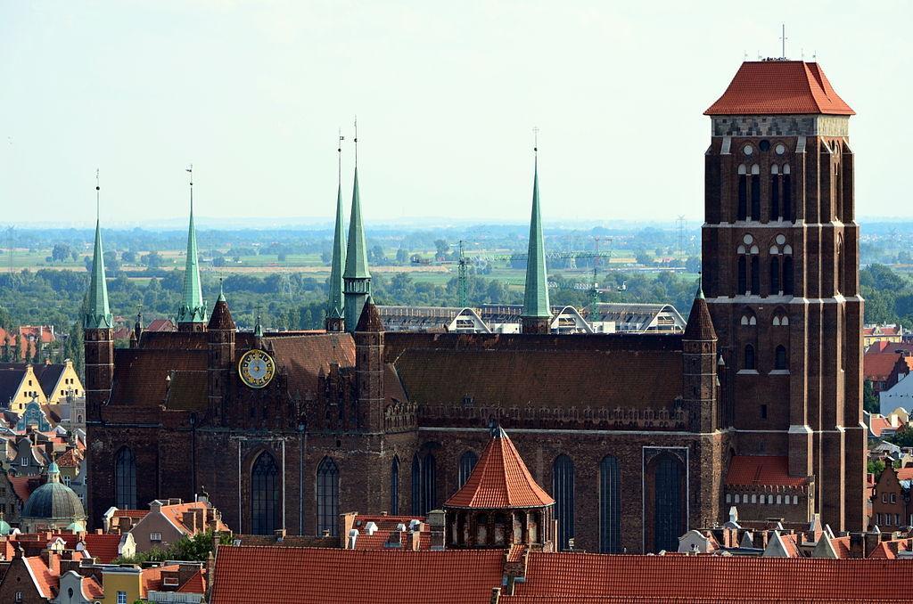 Церковь Девы Марии в Гданьске / Фото en.wikipedia.org