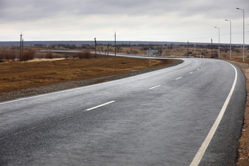 Строительство дороги Одесса-Рени завершилось / фото president.gov.ua