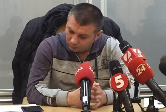 Суд арестовал полицейского Василия Мельникова / фото Facebook Сергея Мазура