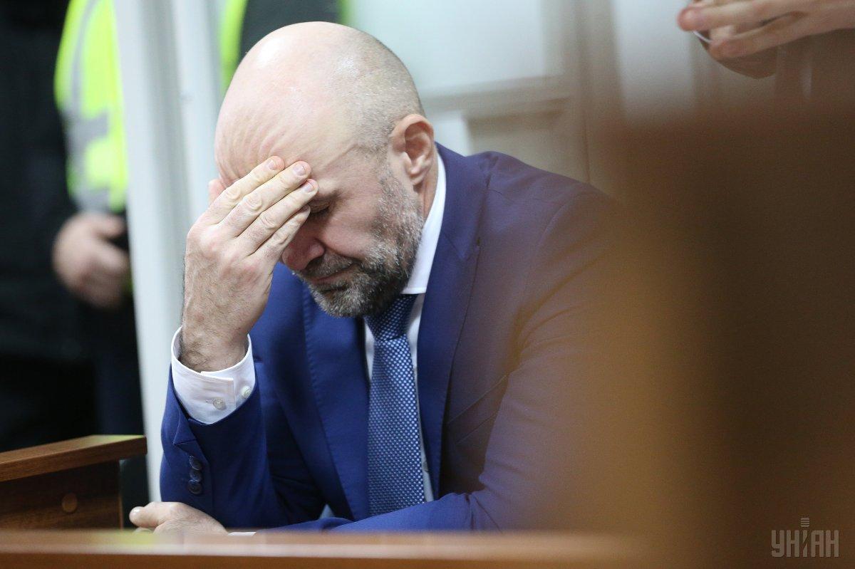 Браслет сняли с Мангера после того, как Шевченковский райсуд Киева не продлил ему меру пресечения \ УНИАН