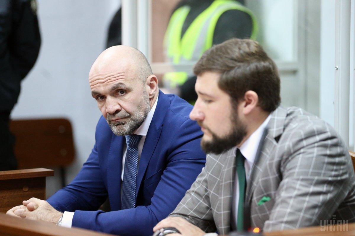 Мангер на заседании суда / фото УНИАН