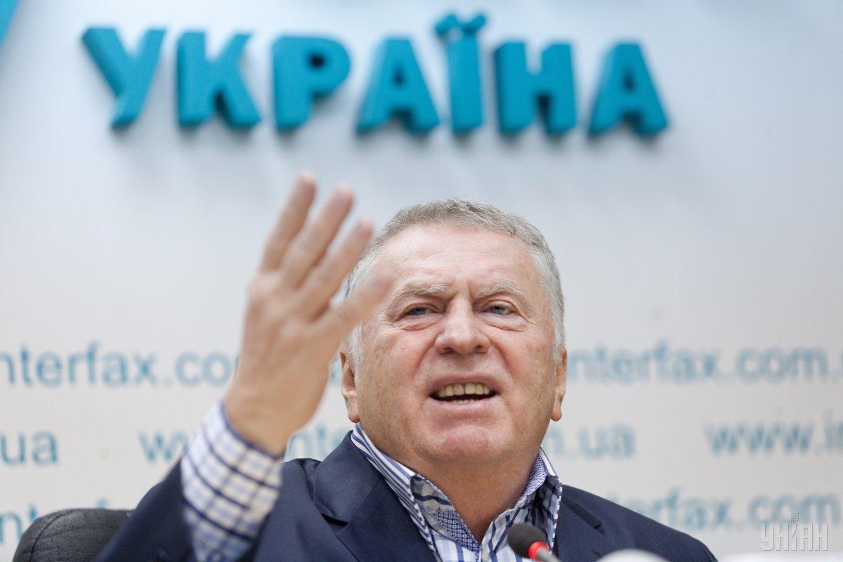 Жириновский требует отстранить Лазарева от участия в Евровидении-2019 из-за его позиции относительно Крыма / фото УНИАН
