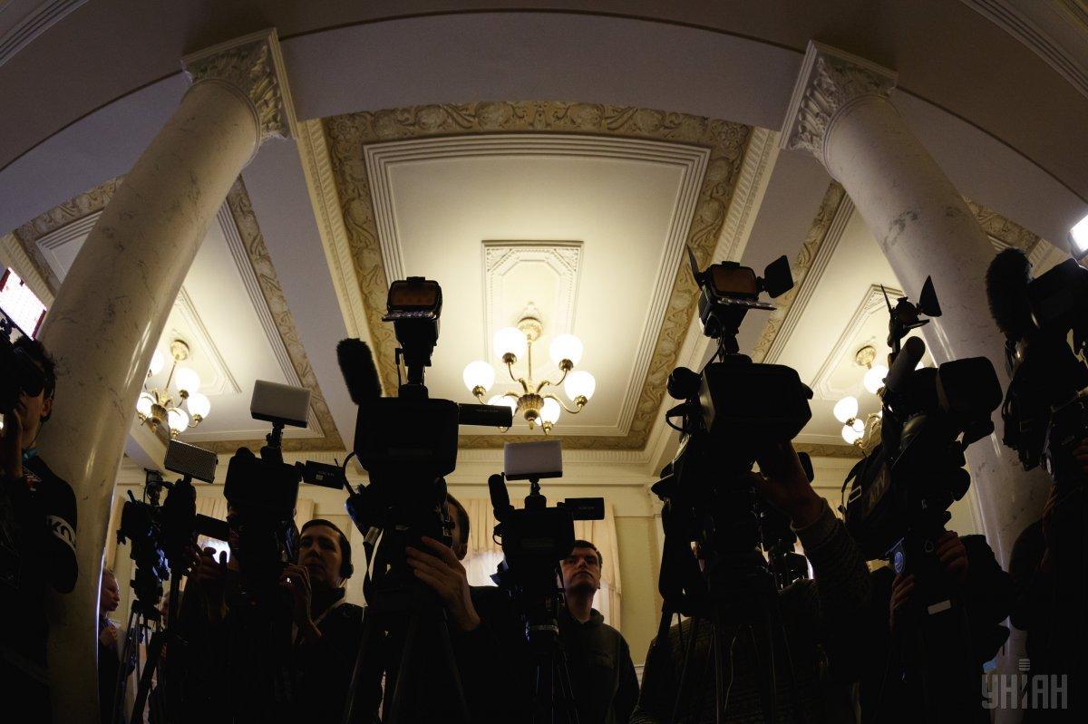 Количество нападений на журналистов постоянно увеличивается / фото УНИАН