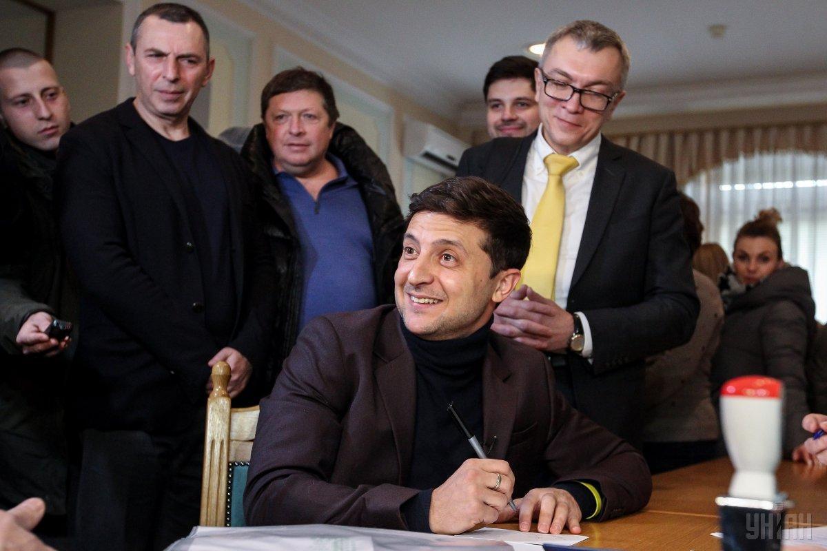 Зеленський зміцнює лідерство в президентськихперегонах / фото УНІАН