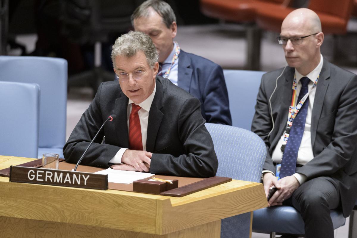 Хойзген: у Украины не было доверия к России / фото UN Photo/Manuel Elias