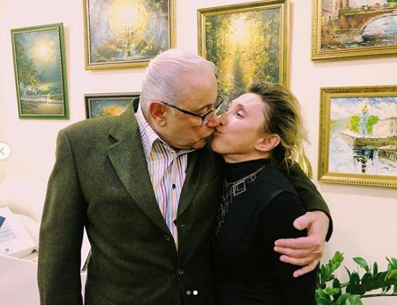 Поцілунок Петросяна і Воробей не залишив байдужими їх шанувальників / instagram.com/petrosyanevgeny