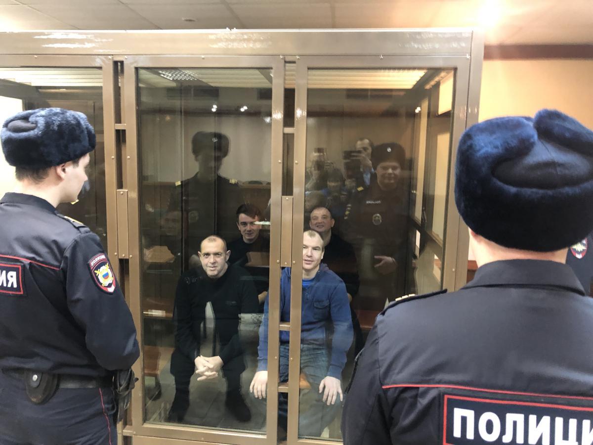 В январе Лефортовский райсуд Москвы продлил сроки арестов / фото Роман Цимбалюк, УНИАН