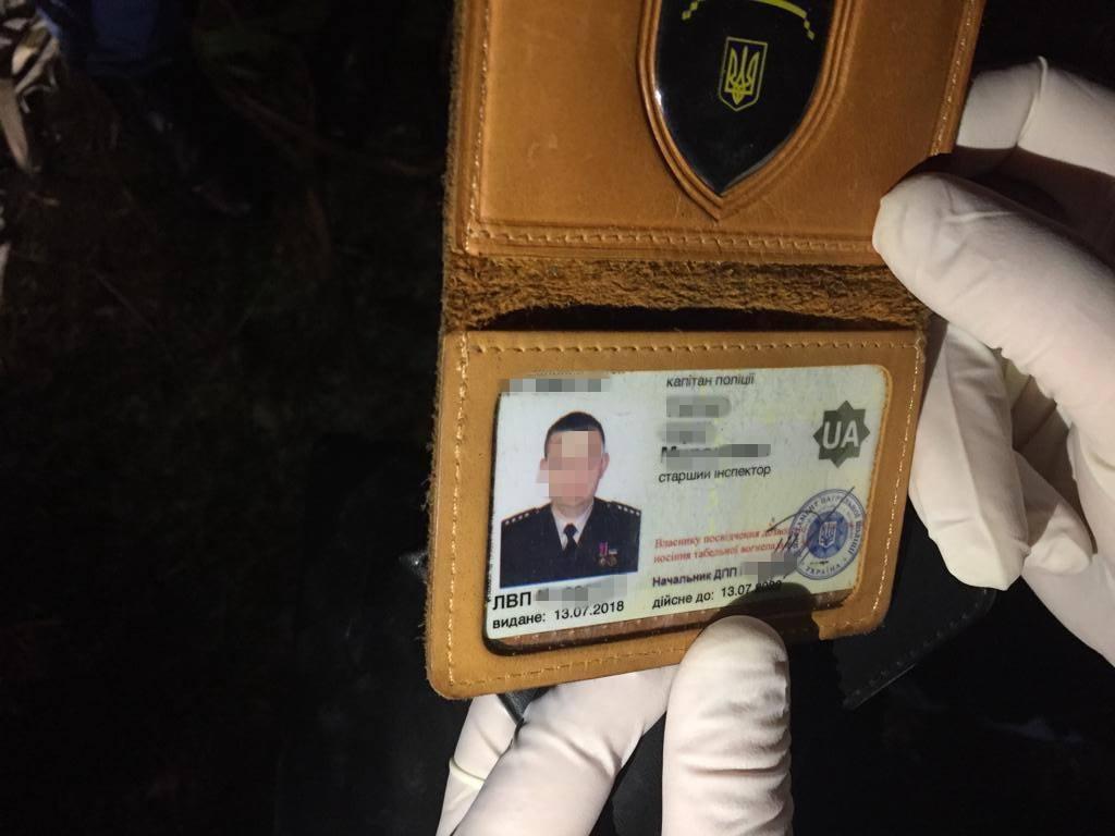 Оперативники спецслужби затримали поліцейського / facebook.com/SBULviv