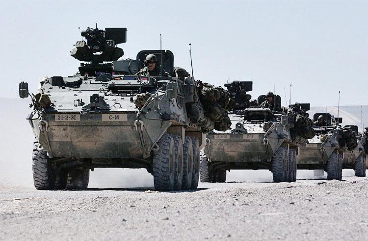 Американські бронемашини Stryker вразливі для кібератак / Ілюстрація - wikipedia.org