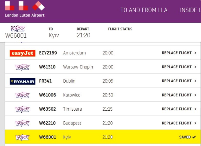 В лондонском аэропорту начали употреблять корректноеанглоязычное название украинской столицы / фото twitter.com/UkrEmbLondon