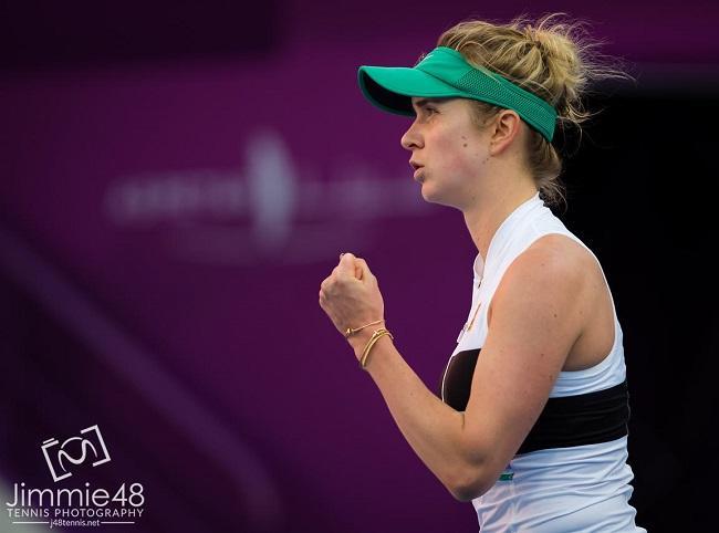 Світоліна виграла перший матч на турнірі в Досі / btu.org.ua