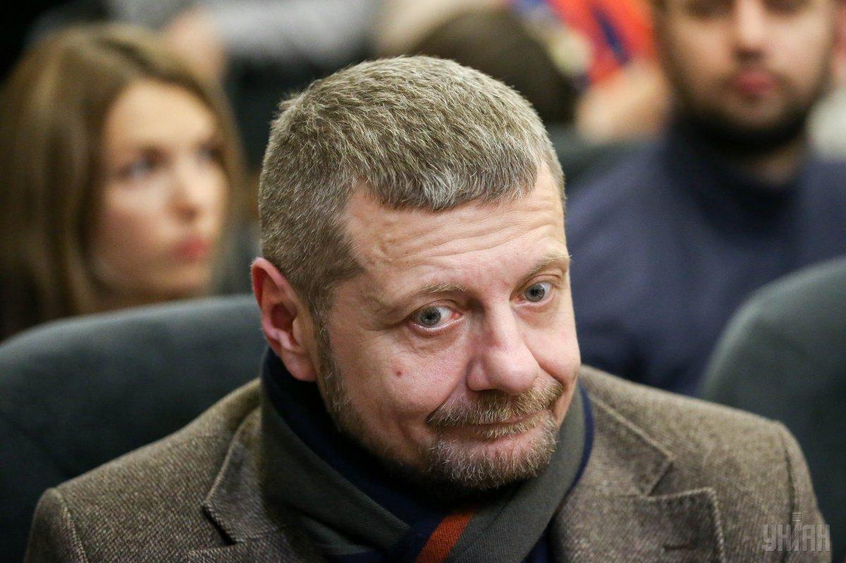 Мосійчуку не сподобалося питання про те, куди нести бензин для самоспалення /фото УНІАН