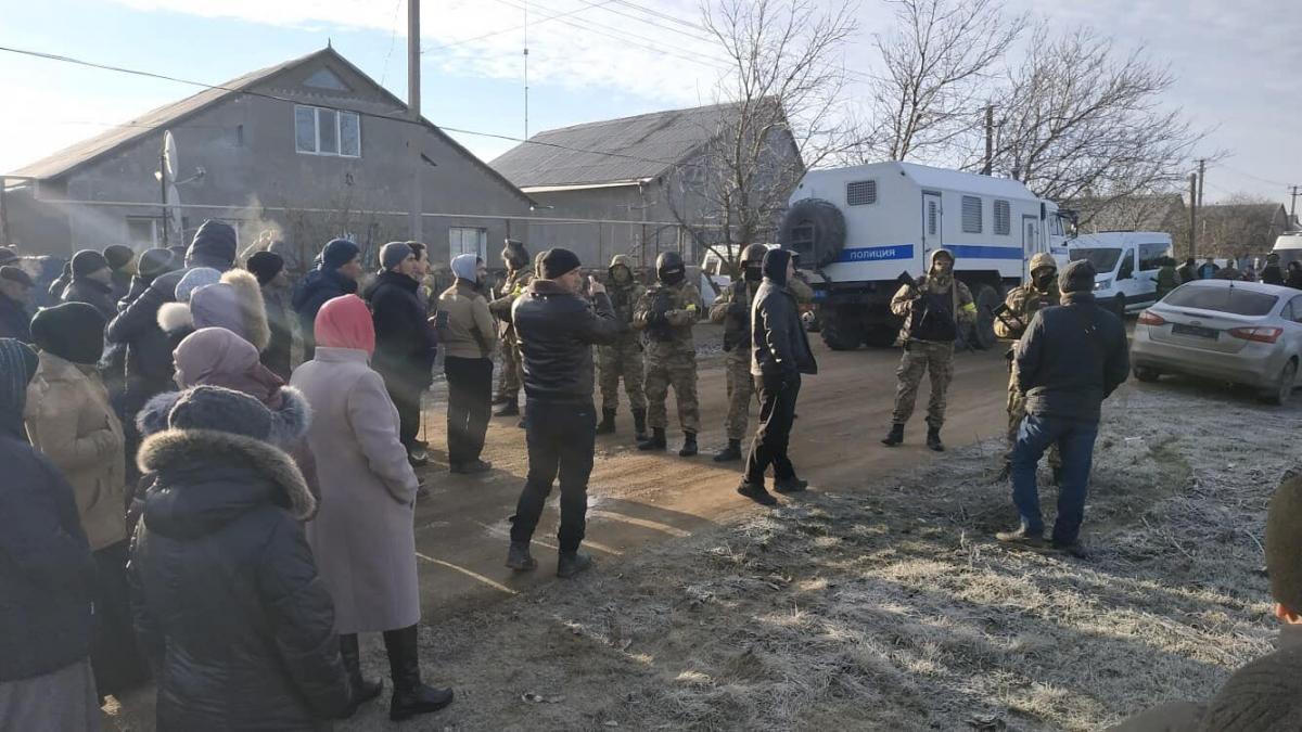 Обшуки в Криму / фото facebook.com/crimeansolidarity