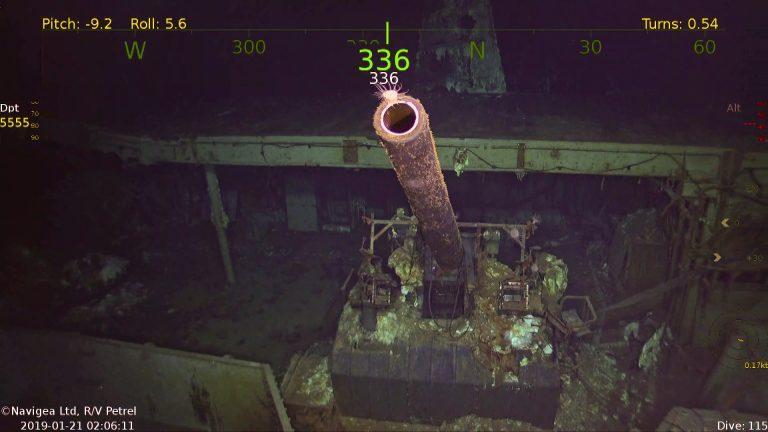 """В Тихому океані знайшли авіаносець """"Хорнет"""" / paulallen.com"""
