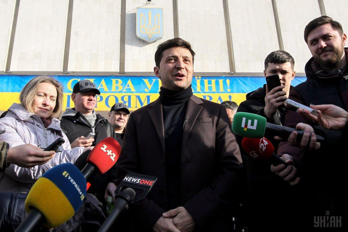 Зеленський лідирує за рівнем підтримки виборців на Сході, Півдні і в Центрі України / УНІАН