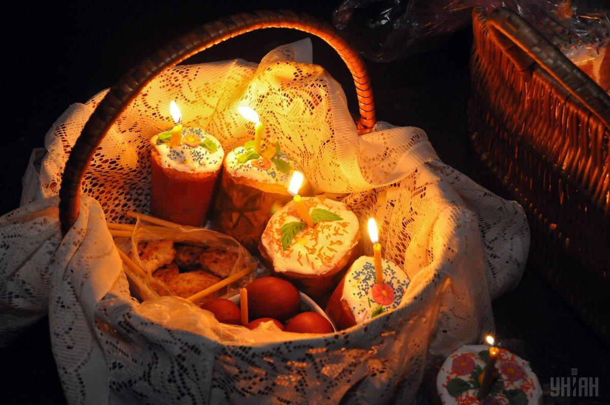 Что положить в корзину на Пасху / фото УНИАН