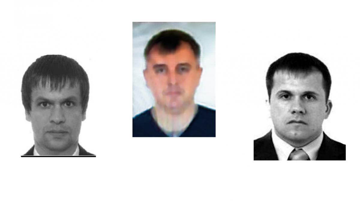 Денис Сергєєв (посередині) керував операцією по отравленню Скрипалів з Лондона / theins.ru