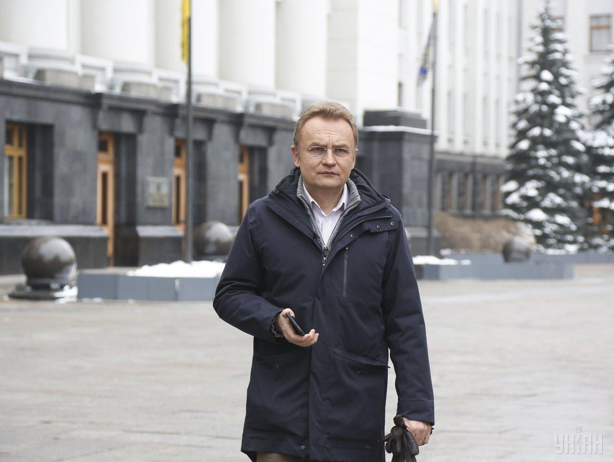 Садовый готов возглавить список «Самопомочи» на парламентских выборах и бороться за пост премьера / фото УНИАН