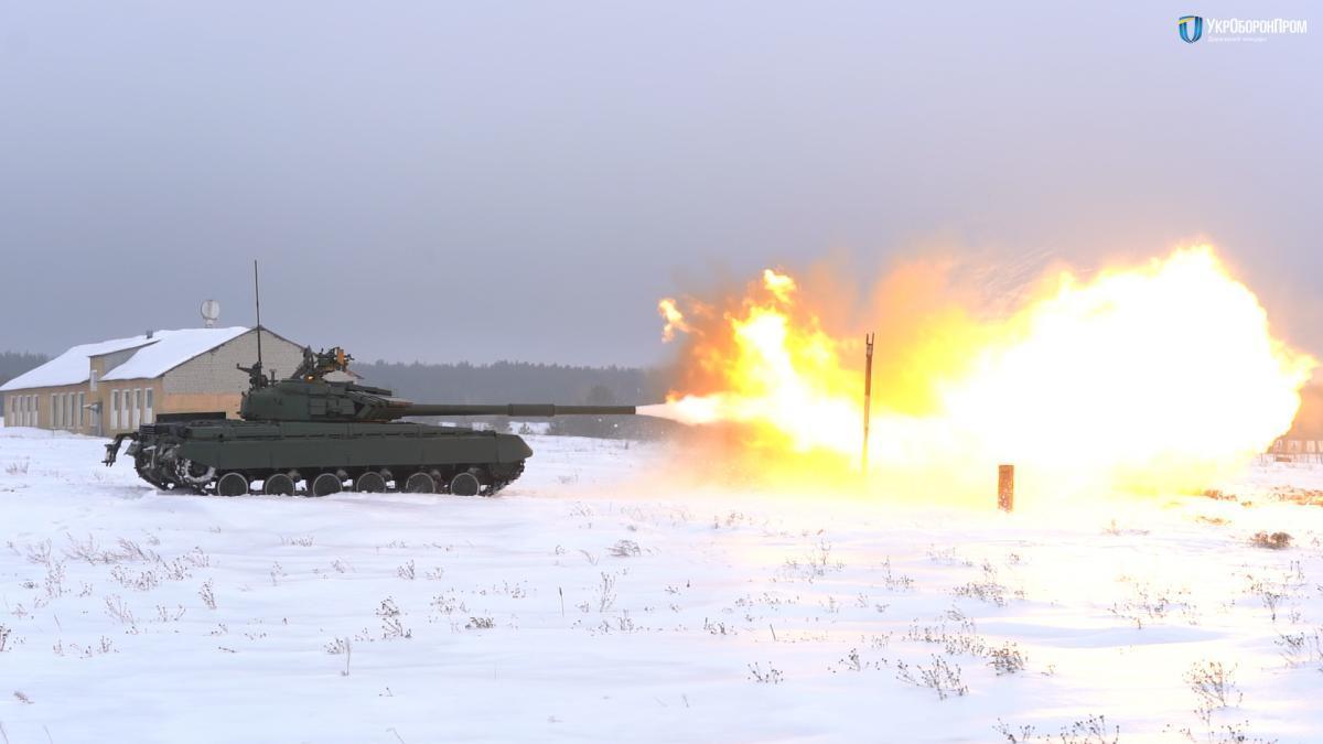 Вооруженные силы получили более 100 модернизированных танков Т-64 / фото Укроборонпром