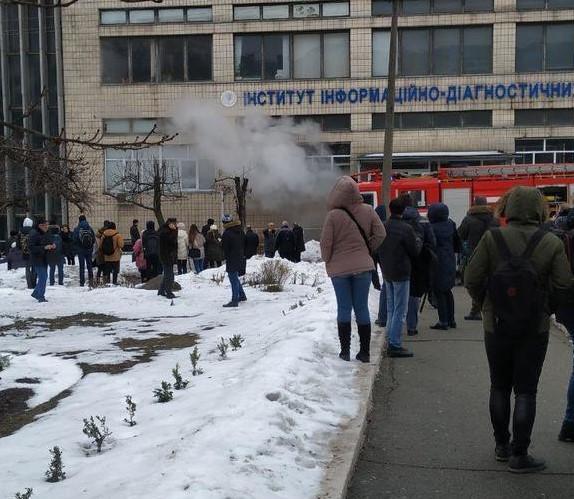 """Пострадавших нет / фото """"Киев оперативный"""""""