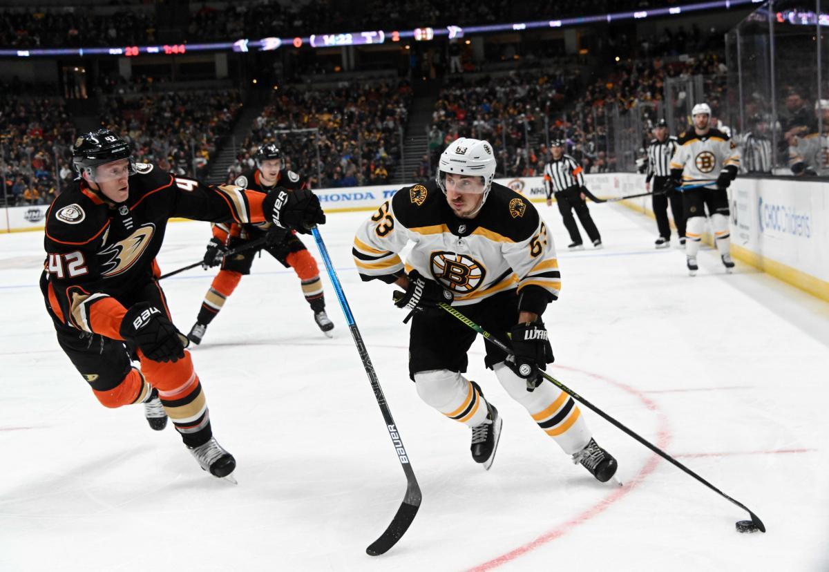 Бостон обіграв Анахайм з сухим рахунком в матчі регулярного чемпіонату / Reuters