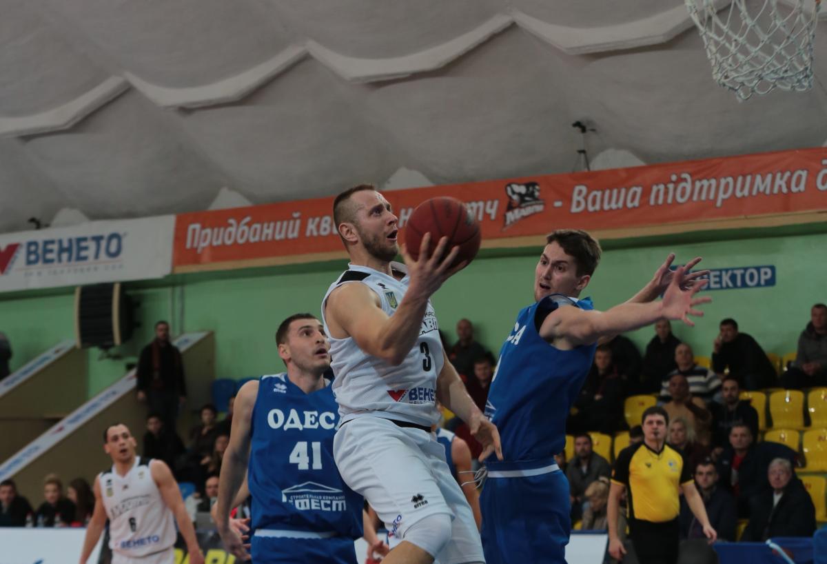 Черкасские Мавпы обыграли Одессу в матче регулярного чемпионата Суперлиги / fbu.ua