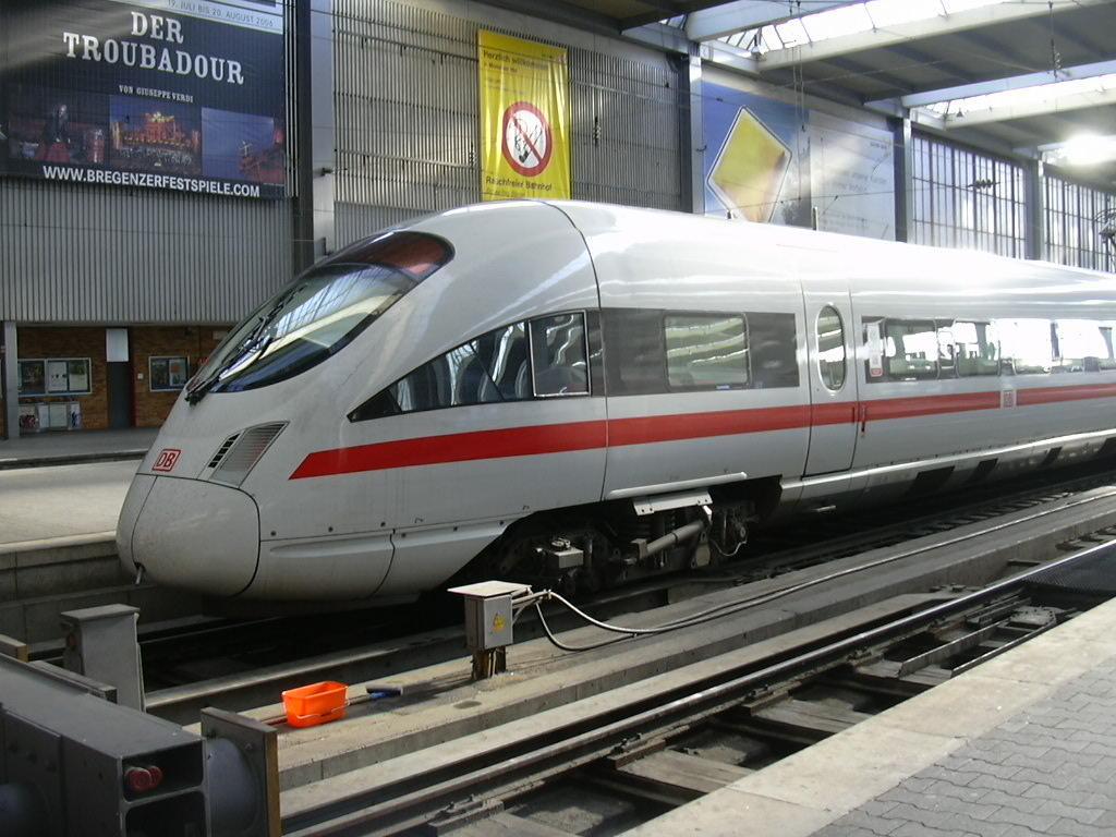 В Германии пассажиров скоростного поезда эвакуировали из-за опасной находки/ Wikipedia