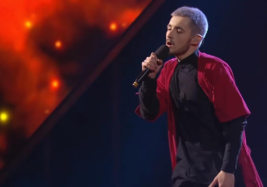"""Користувачі мережі вважають що KHAYAT був гідний фіналу відбору на """"Євробачення"""" / Скріншот - Youtube, Телеканал СТБ"""