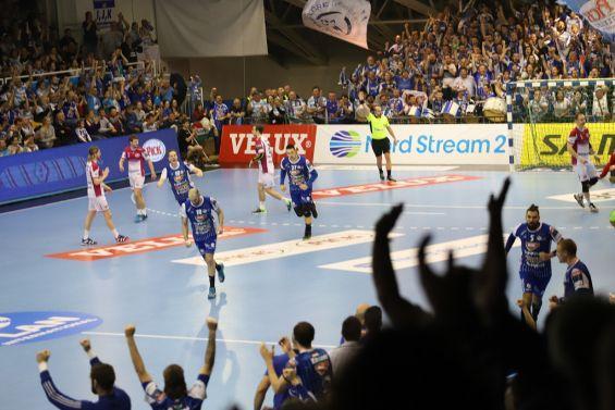 Мотор проиграл матч гандбольной Лиги чемпионов в Венгрии / eurohandball.com