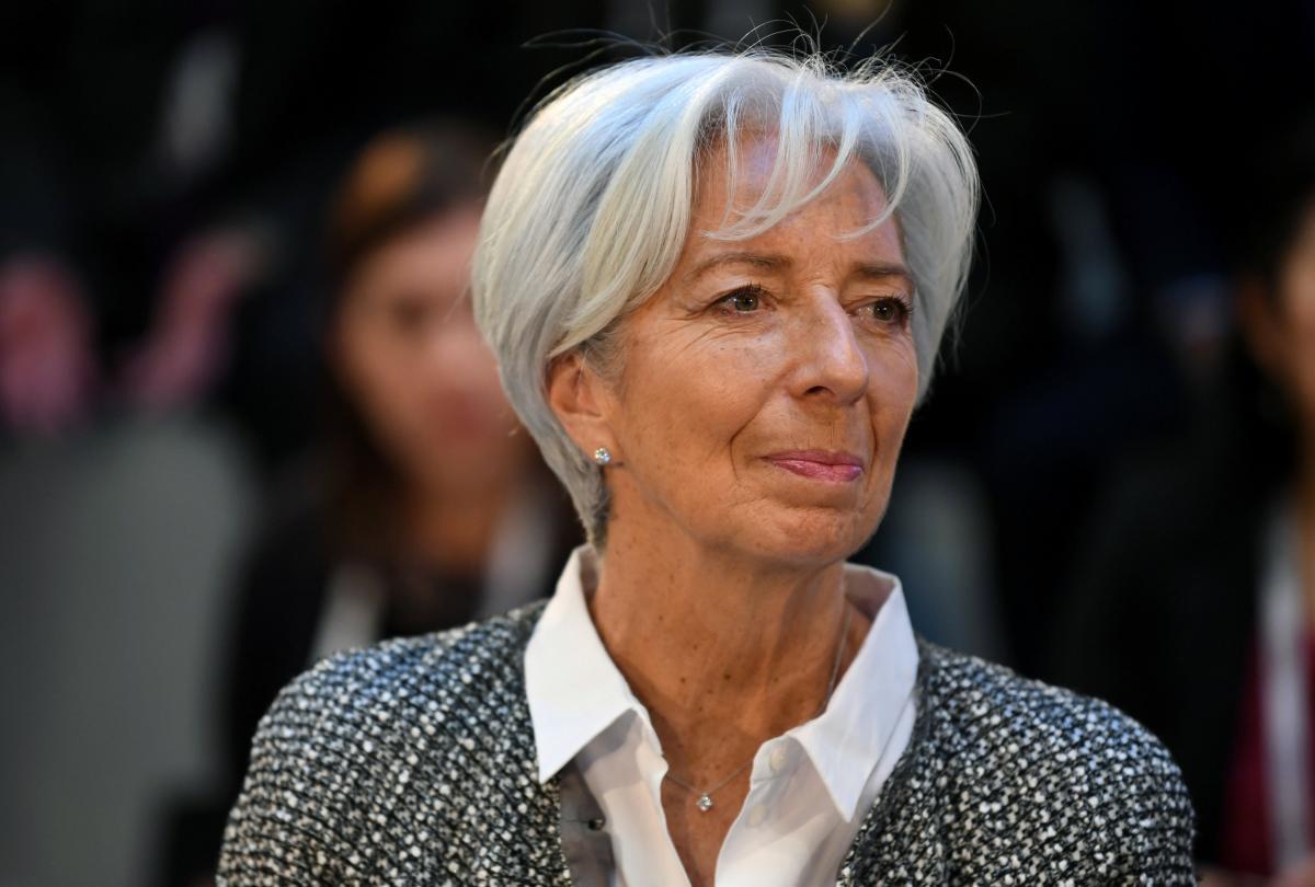 Глава ЄЦБ Крістін Лагард / REUTERS