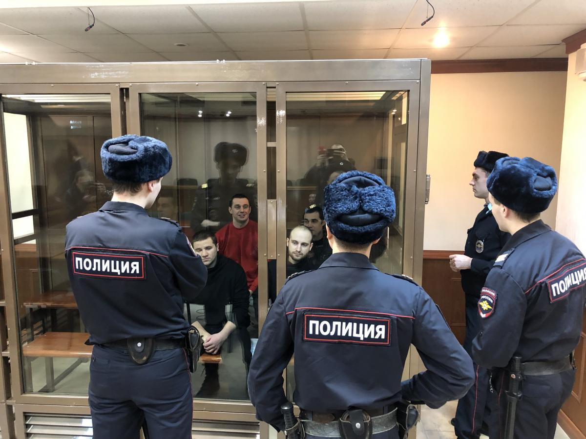 Россия удерживает в СИЗО украинских моряков / фото Роман Цмбалюк