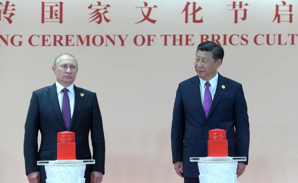 """Россия оказывала сопротивление гегемонии Запада, но готова """"поклониться"""" Китаю/ kremlin.ru"""