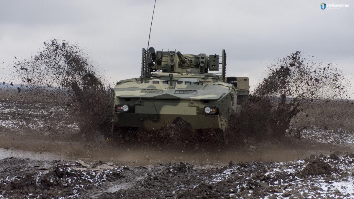 БТР- 4МВ1 презентували на Міжнародній виставці озброєнь / фото Укроборонпром