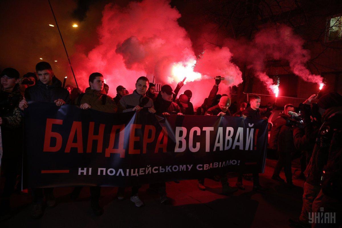Активісти вимагали під стінами МВС реформи поліції / УНІАН