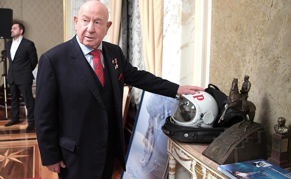 Легендарний космонавт міг втекти з Росії через арешт американського інвестора / kremlin.ru