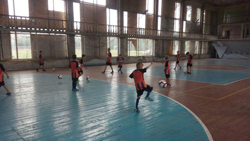 Спортзал в Краснагоровке восстановят в кратчайшие сроки / shakhtar.com