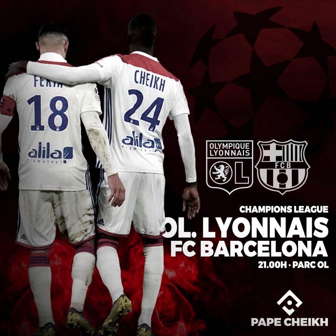 Лион примет Барселону на своем поле в матче Лиги чемпионов / twitter.com/ol