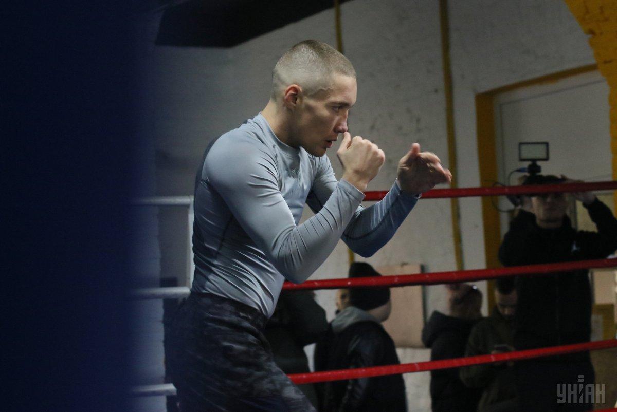 Пока Малиновский готовитсяк предстоящему в апреле бою вслепую, не зная соперника / фото УНИАН