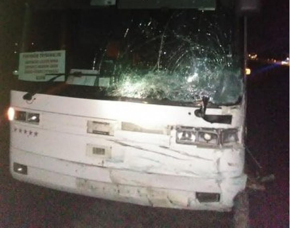 За рулем автобуса находился 46-летний киевлянин / фото 032.ua
