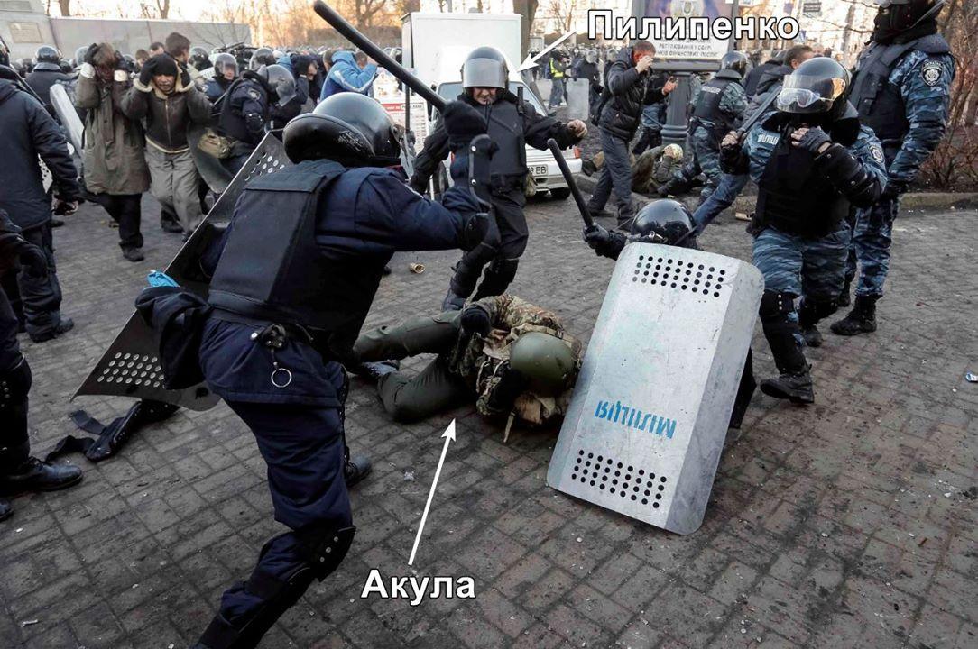 Фотография времен Революции достоинства / фото Билецкий/Facebok