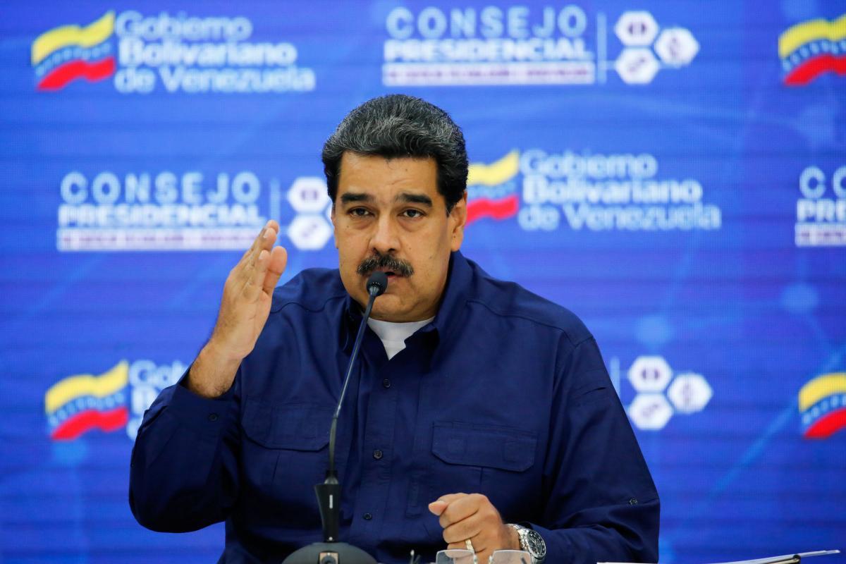 ПрезидентВенесуели не уточнив, яке про саме озброєння йдеться \фото REUTERS