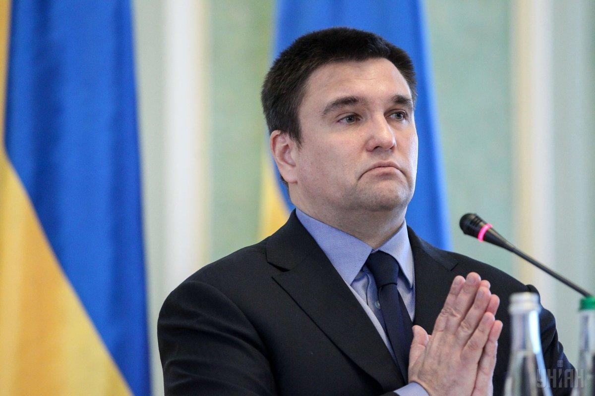 Климкин прогнозирует, что Зеленский предложит ему встретиться в ближайшее время / УНИАН
