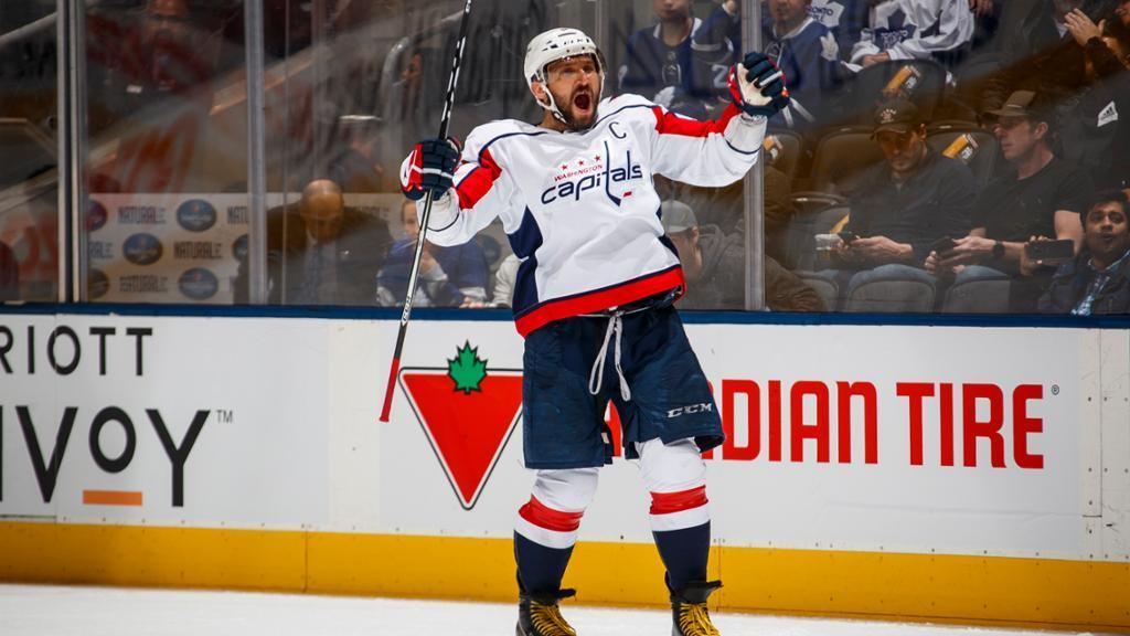 Овечкин забил юбилейный 650-й гол в НХЛ / nhl.com