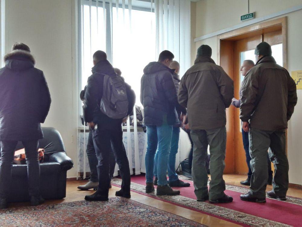 Следственные действия НАБУ проходили в кабинете первого заместителя главы администрации Андрея Писоцкого / фото zmist.pl.ua