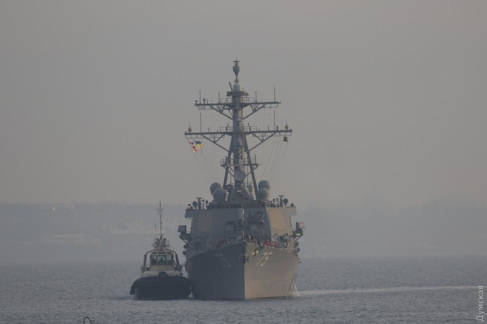 The Arleigh Burke-class guided-missile destroyer USS Donald Cook / Photo from dumskaya.net