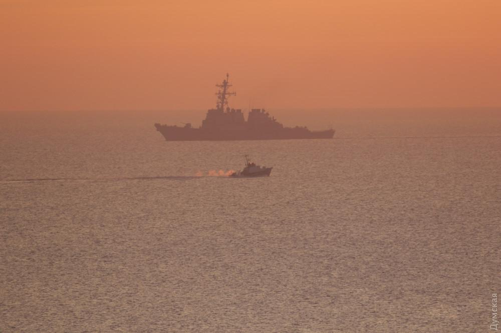 Вашингтон вирішив не здійснювати переміщення військових кораблів / фото Думская