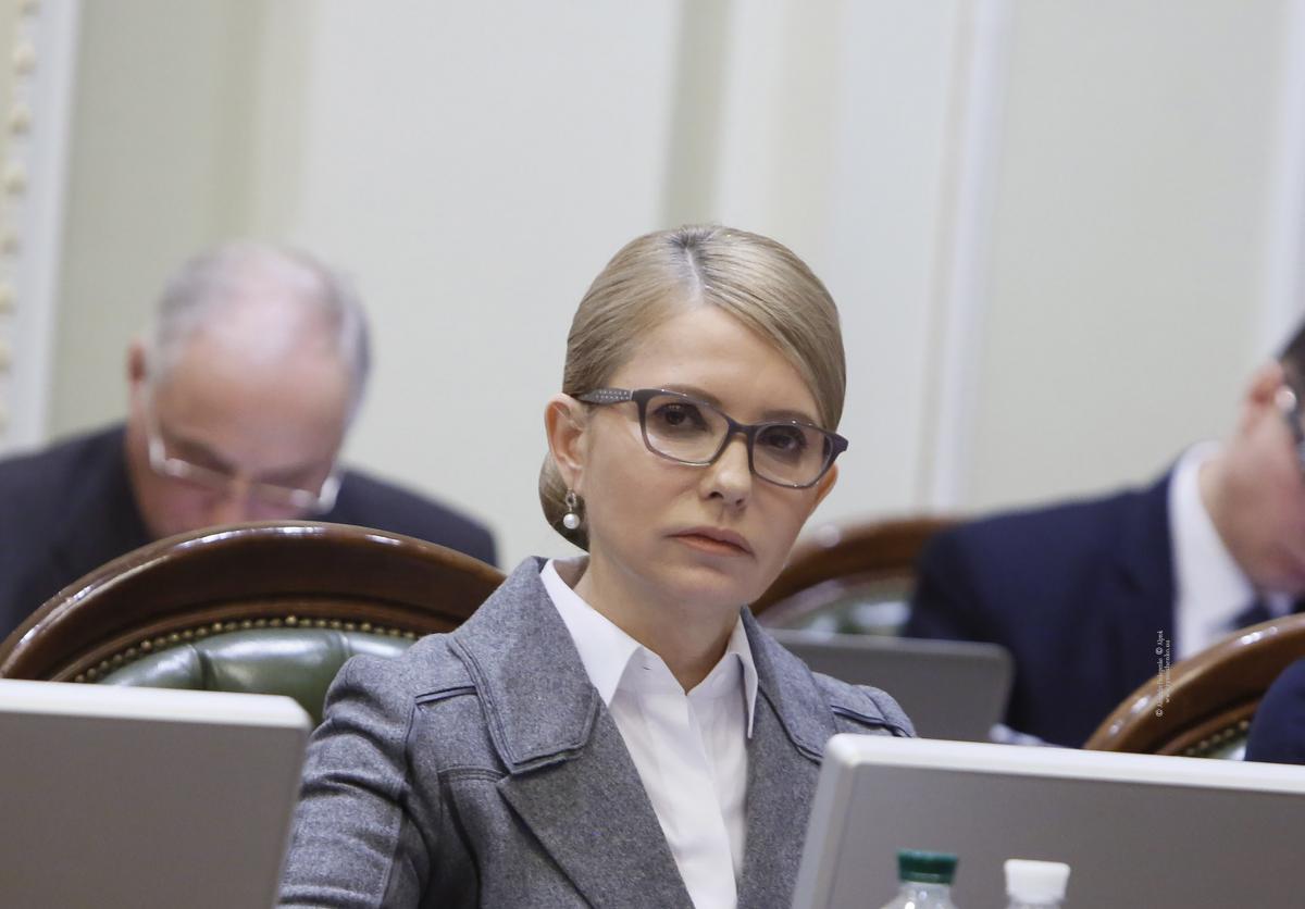 Тимошенко заразилась коронавирусом / фото Александр Прокопенко