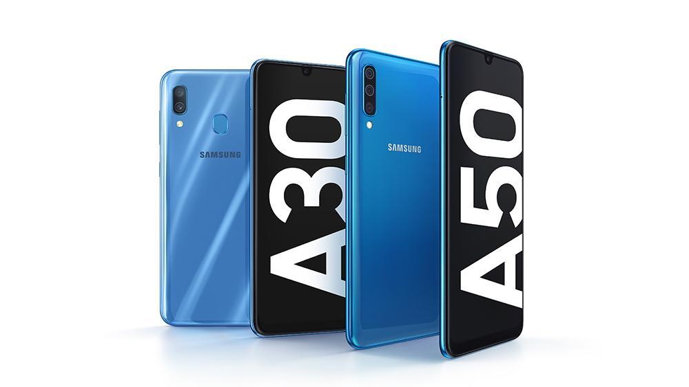 Нові Galaxy A30 і Galaxy A50 / фото Samsung