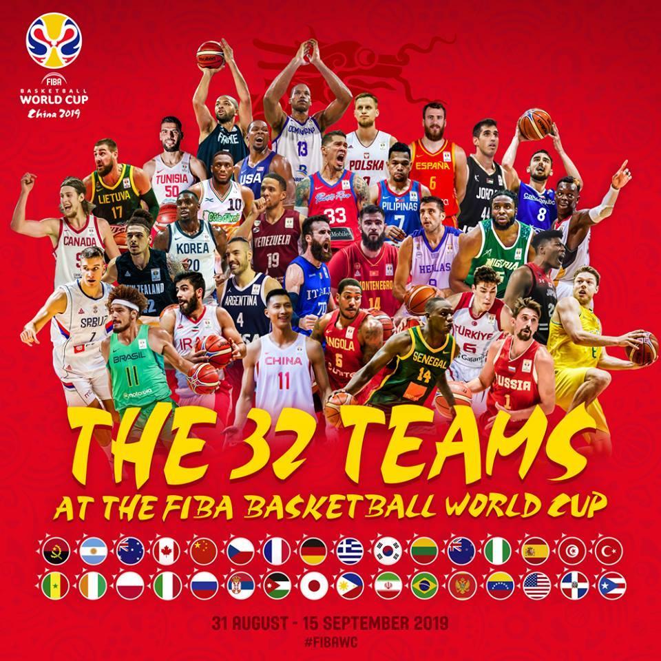 Определились все участники Кубка мира по баскетболу в Китае / facebook.com/FIBAWC